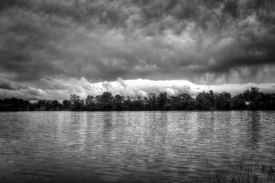 Storm Photograph - A Storm Rolls By by Thomas Young