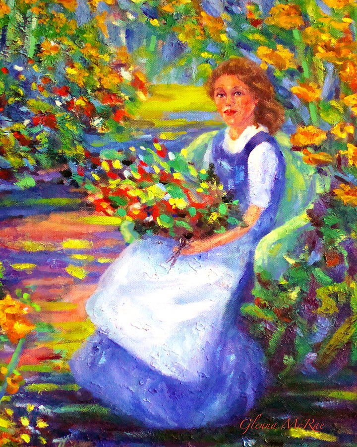 Impressionism Painting - A Summer Day  by Glenna McRae