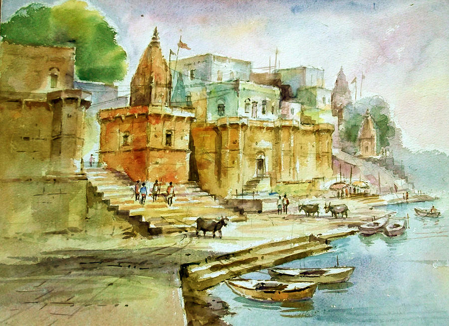 Image result for ghat painting