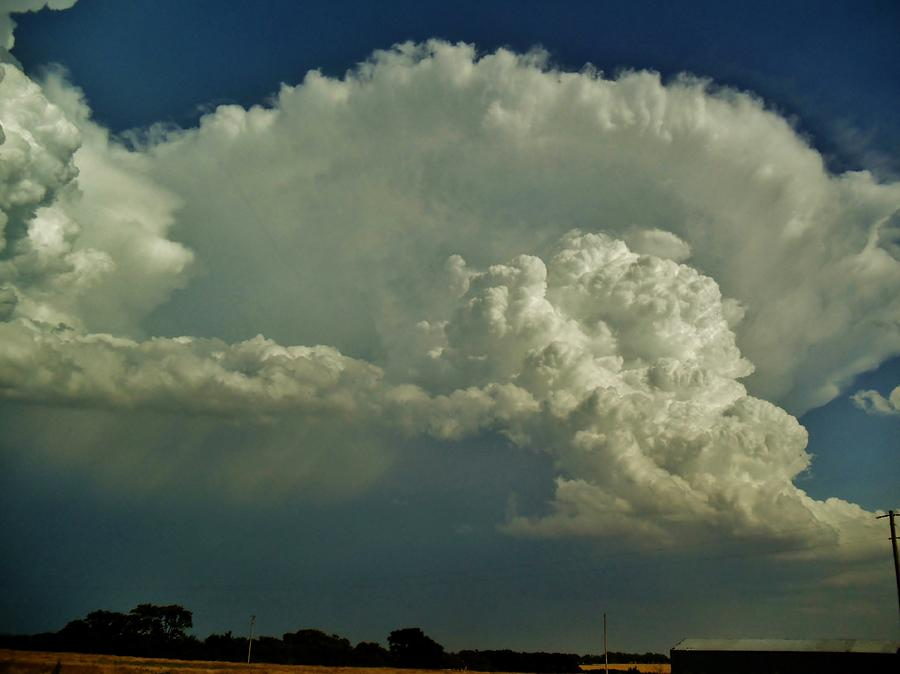 A Supercell Is Born Photograph