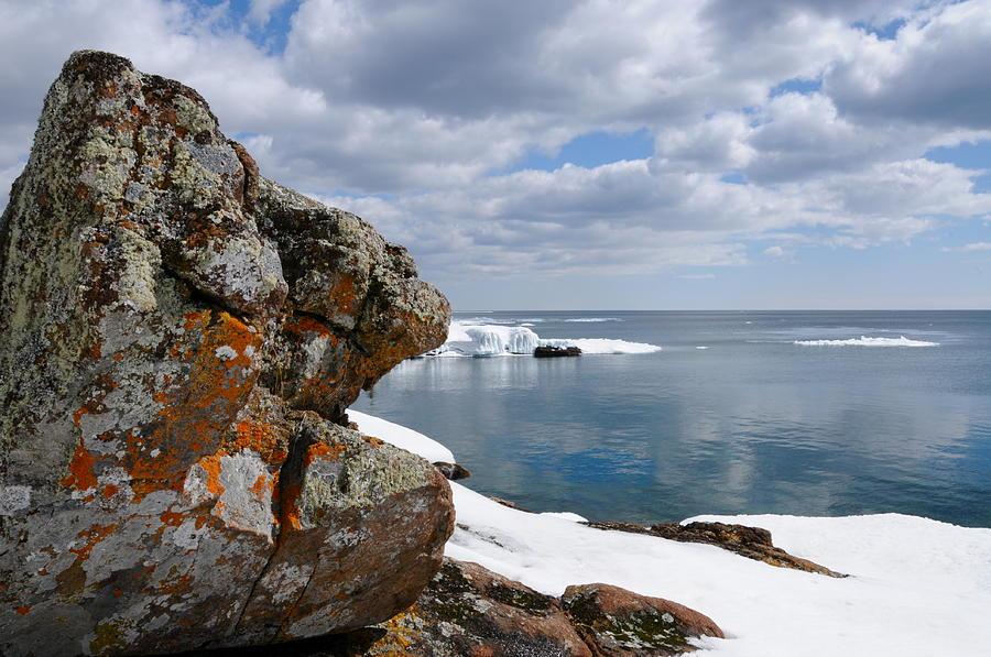 Lake Superior Photograph - A Superior Day by Sandra Updyke