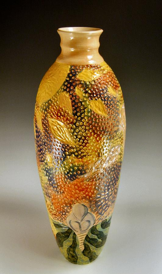Pottery Ceramic Art - A Surreal View by John OBrien