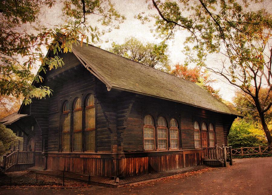 Cottage Photograph - A Swedish Cottage by Jessica Jenney