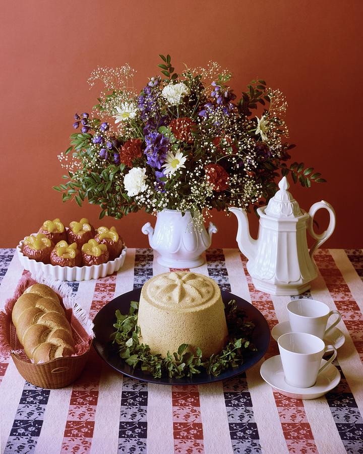 A Table Of Pastries Photograph by Mary Faulconer