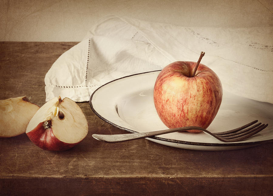 Apple Photograph - A Taste Of Autumn by Amy Weiss