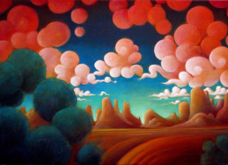 Magical Painting - A Taste Of Summer by Richard Dennis