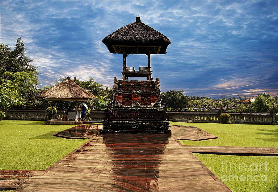 Temple Photograph - A Temple by Ben Yassa