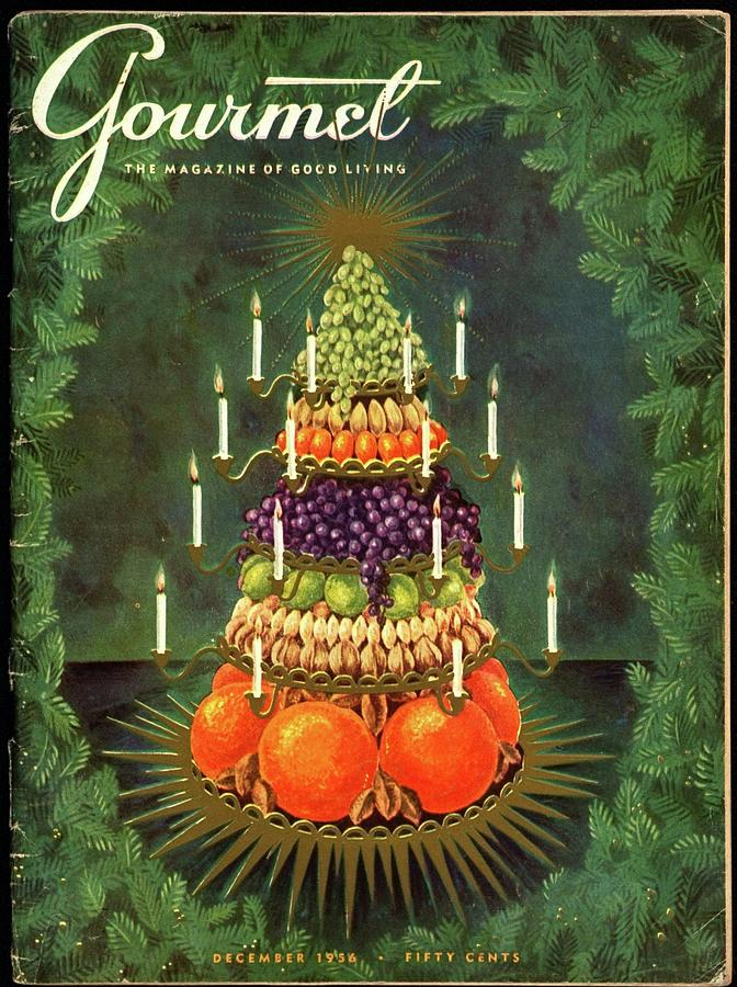 A Tiered Christmas Centerpiece Photograph by Hilary Knight