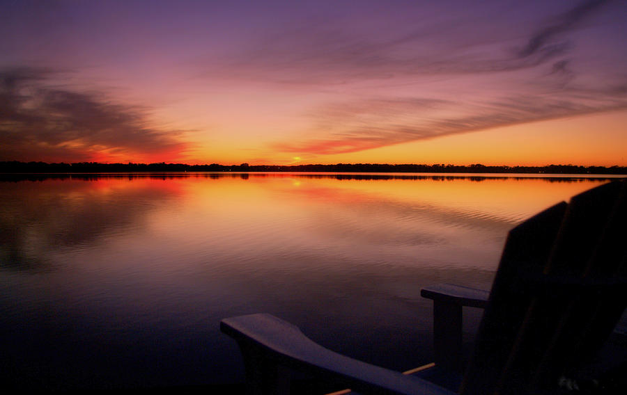 Lakeside Photograph - A Time To Reflect by Jen T