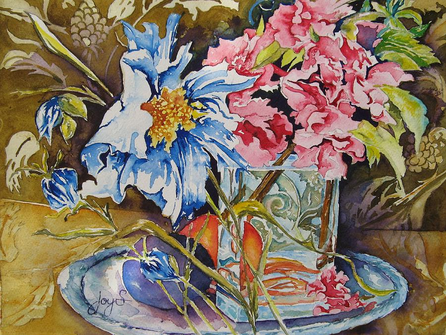 Watercolor Painting - A Touch Of Class by Joy Skinner