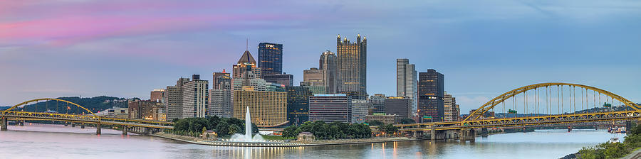 Allegheny Photograph - A Touch Of Pink by Jennifer Grover