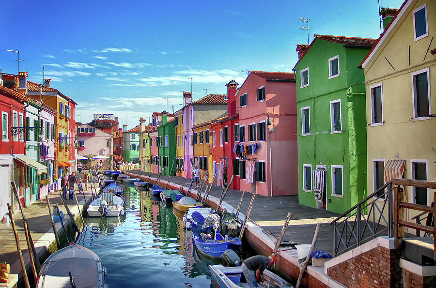 A Tour Of Burano Photograph by Diego Gutierrez