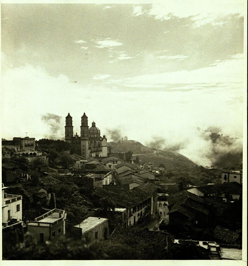 A Town In Mexico Photograph by Fredrich Baker