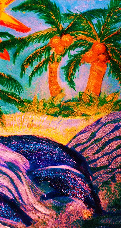 Tropics Mixed Media - A Trip To The Tropics by Anne-Elizabeth Whiteway