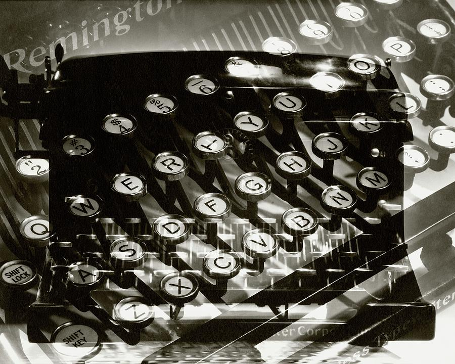 A Typewriter Photograph by Lusha Nelson