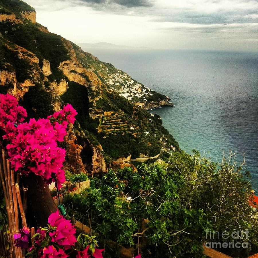 Amalfi Photograph - A View From Above by H Hoffman