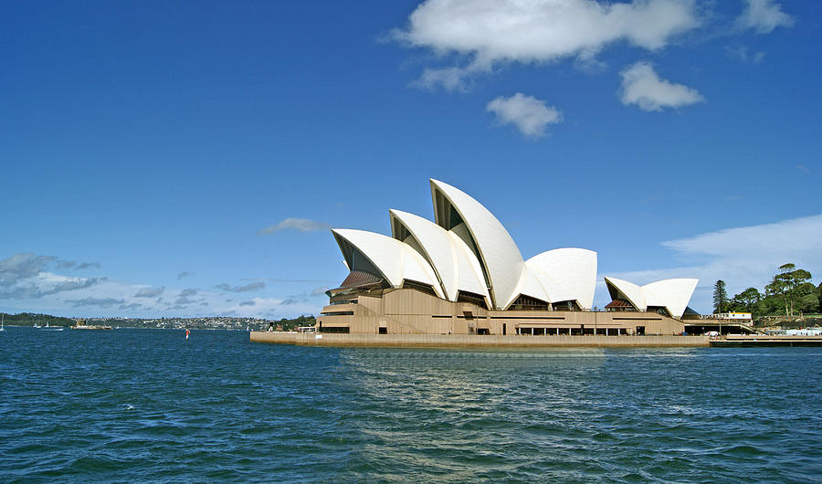 Performing Arts Photograph - A View Of The Sydney Opera House by Anonymous