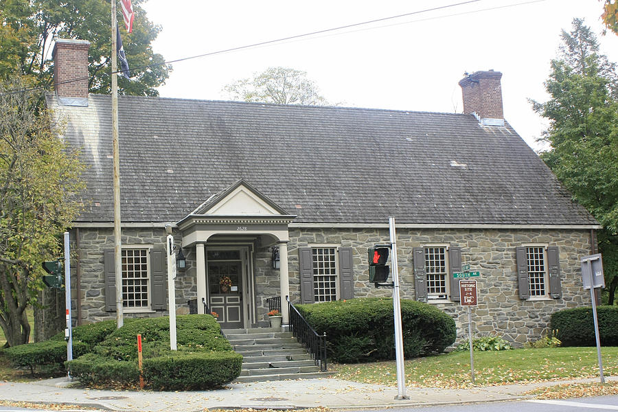 A View Of The Wappingers Fall Town Hall Photograph