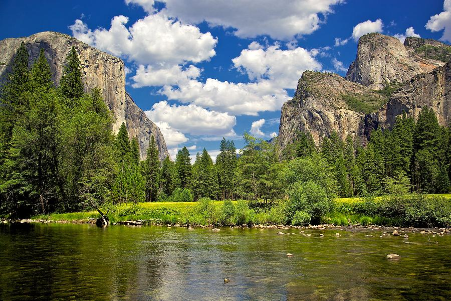 A View of Yosemite by Joseph Urbaszewski