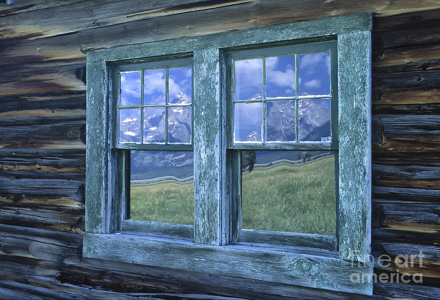 Grand Teton Photograph - A View To The Tetons by Sandra Bronstein