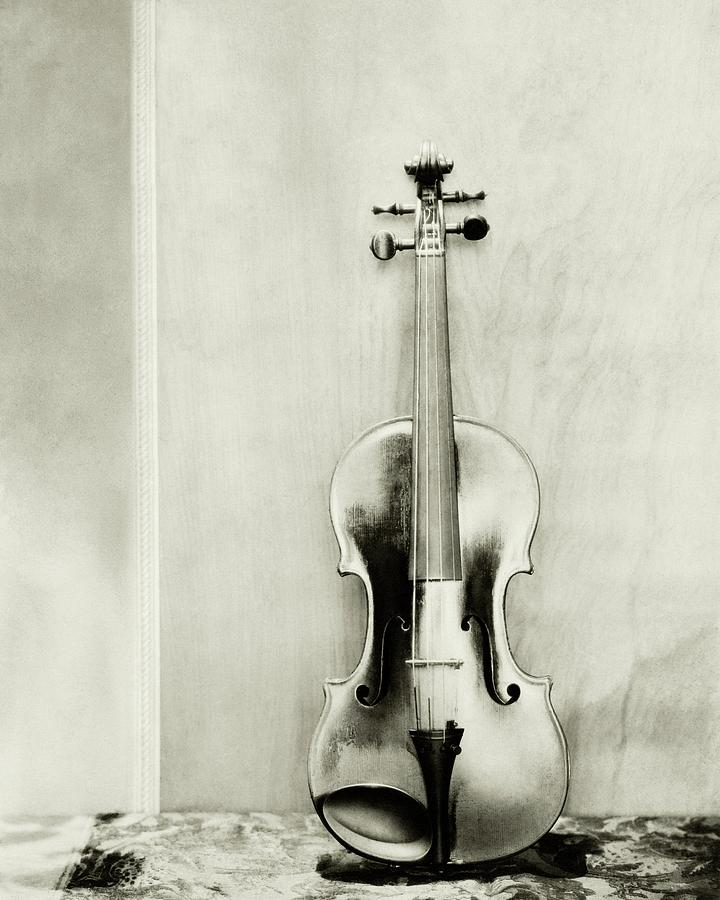 A Violin Photograph by Edward Steichen