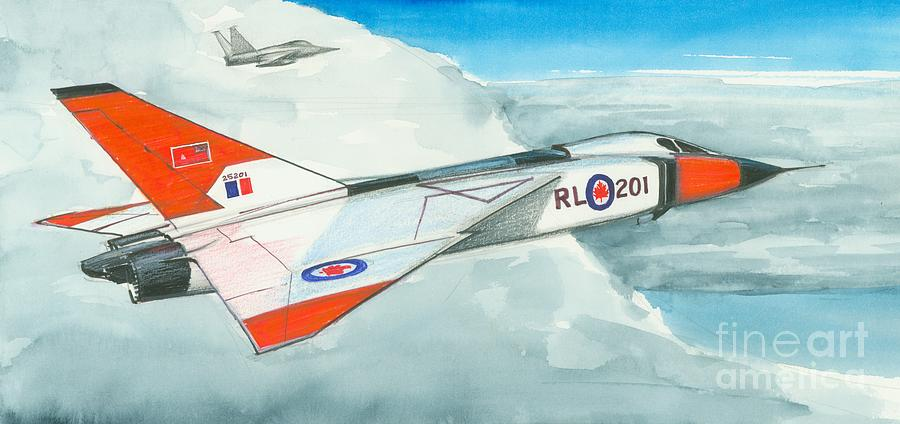 Avro Arrow Painting - A Vision Lost by Michael Swanson