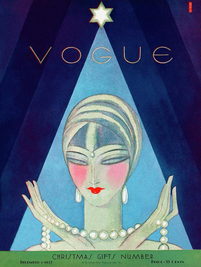 A Vogue Magazine Cover Of A Wealthy Woman Photograph by Eduardo Garcia Benito