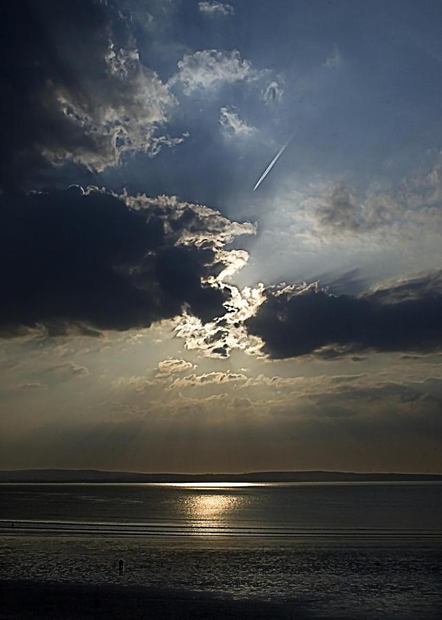 Beach Photograph - A Walk Along The Beach by Tony Reddington