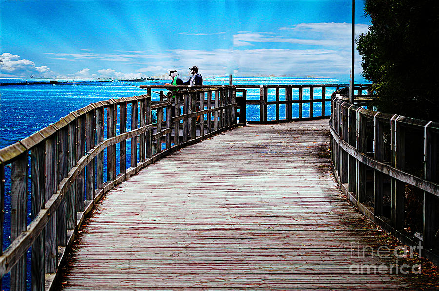 Walk Photograph - A Walk by Ben Yassa