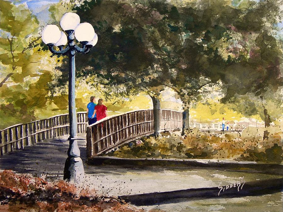 A Walk In The Park Painting By Sam Sidders