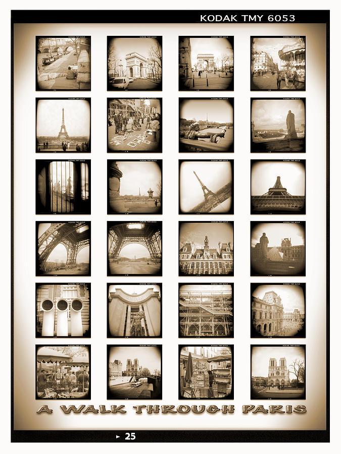 Paris Photograph - A Walk Through Paris by Mike McGlothlen
