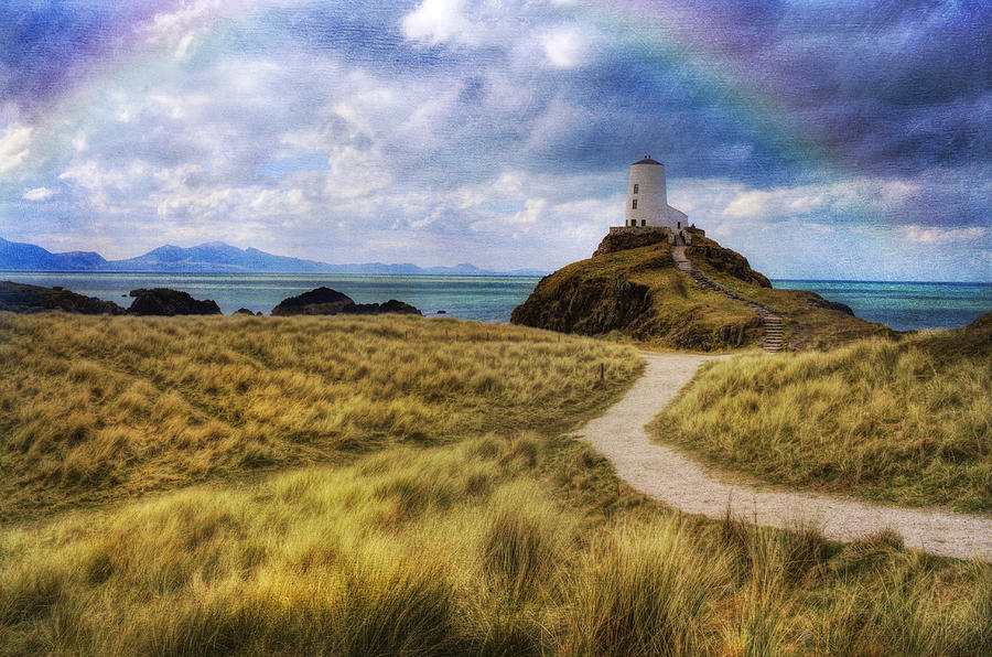 Lighthouse Photograph - A Walk To The Lighthouse by Ian Mitchell