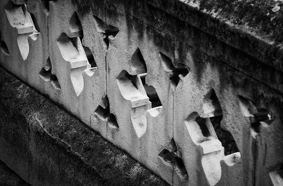 Britain Photograph - A Wall Between Gardens by Christi Kraft