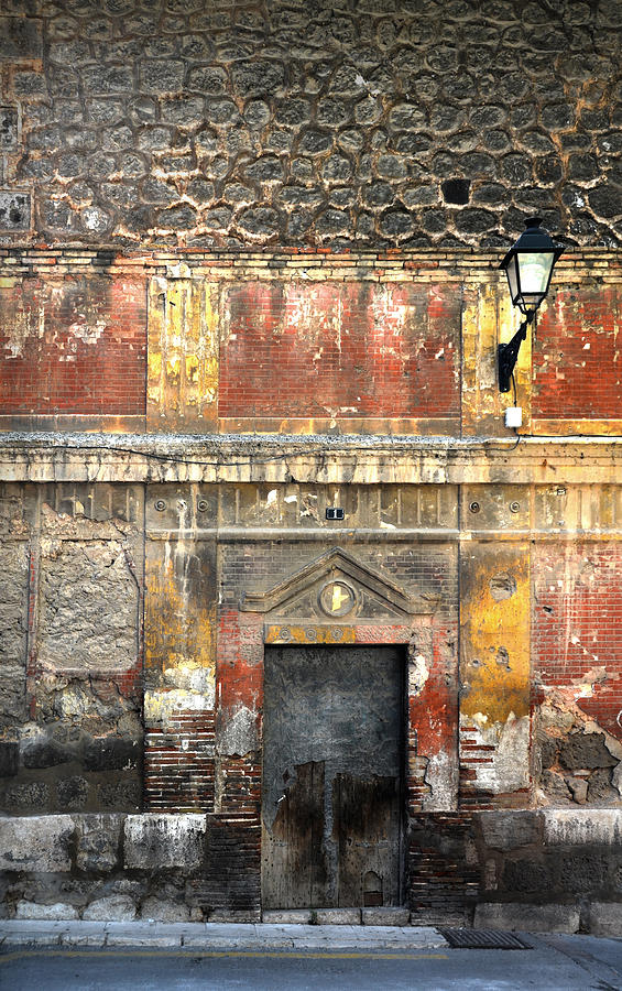 Wall Photograph - A Wall In Decay by RicardMN Photography