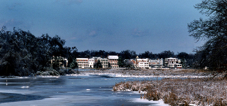 Waterfront Photograph - A Waterfront Christmas by Skip Willits