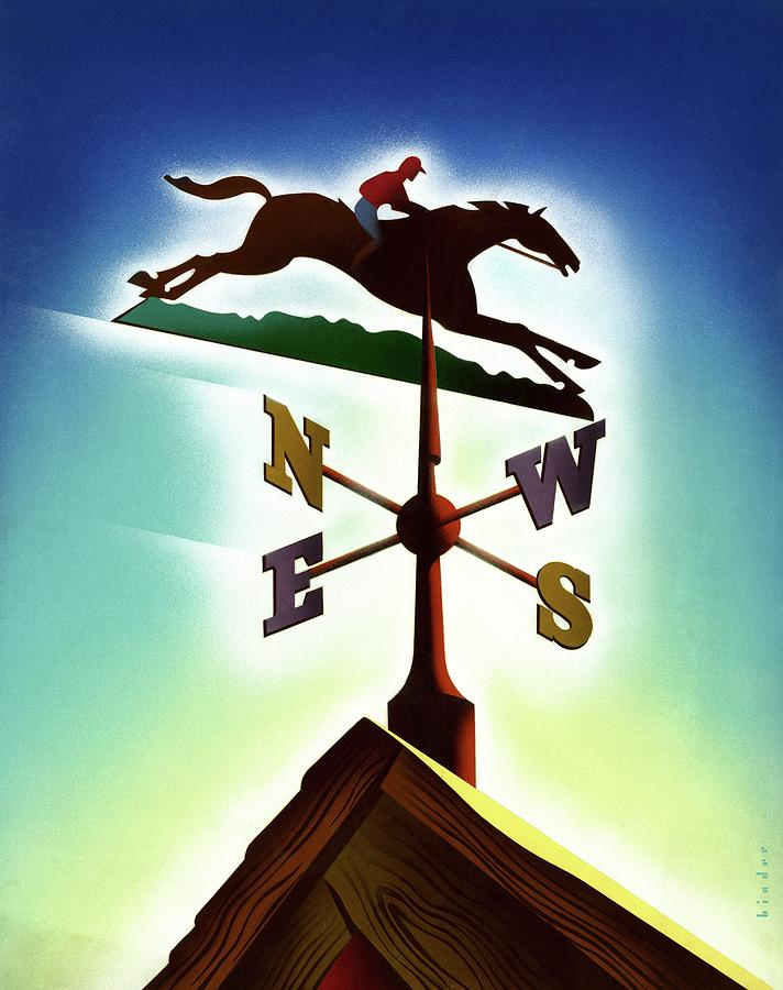 A Weather Vane Digital Art by Joseph Binder