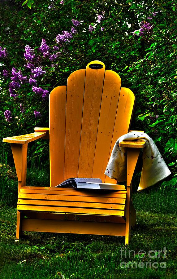 Adirondack Photograph - A Well Deserved Rest by Randi Grace Nilsberg