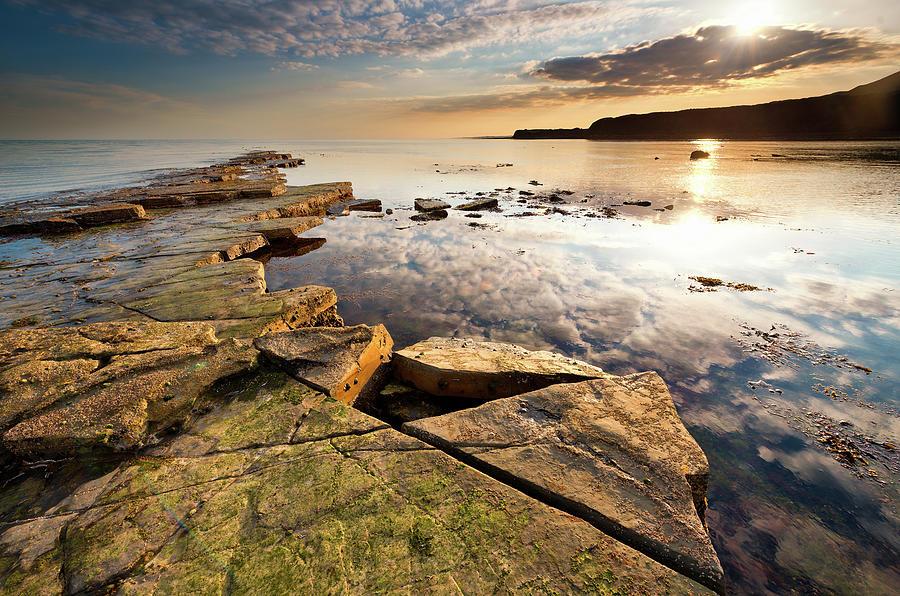 A Wider Shot Of Kimmeridge Bay Photograph by Image By Owen Lloyd Owenlloydphotography.com