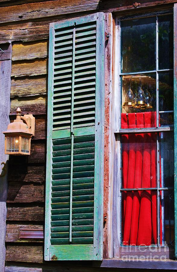 A Window In St. Augustine Florida  Photograph by Marcus Dagan