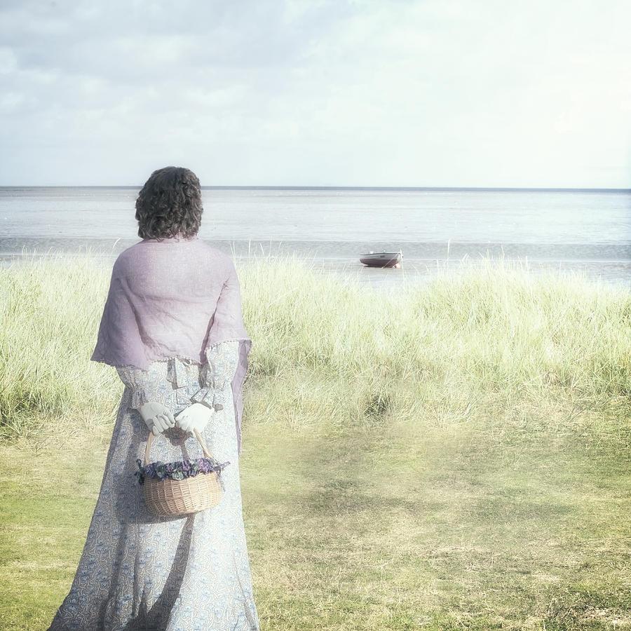 Woman Photograph - A Woman And The Sea by Joana Kruse