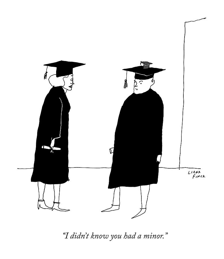 A Woman In A Graduation Cap And Gown Speaks