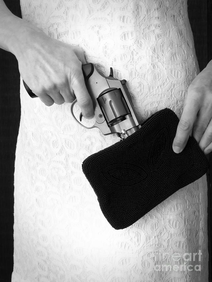 Purse Photograph - A Woman Scorned by Edward Fielding
