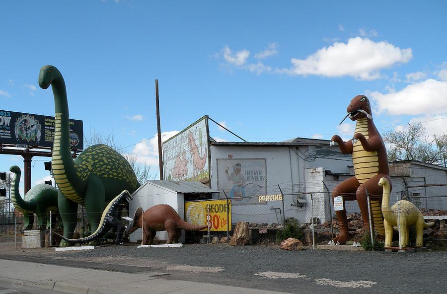 A Yard Full Of Dinosaurs Arizona Photograph