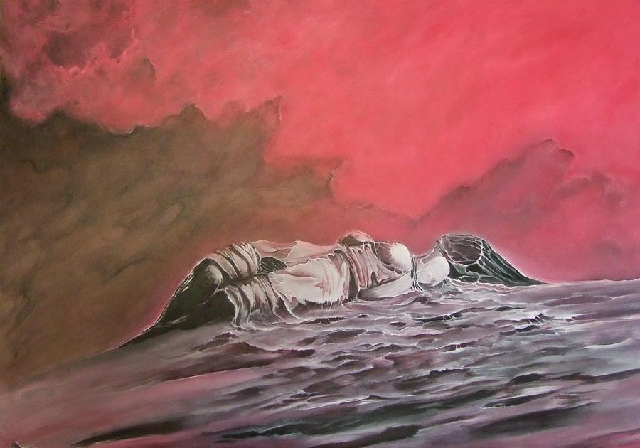 Surreal Painting - A_12 by Marek Kasprzak