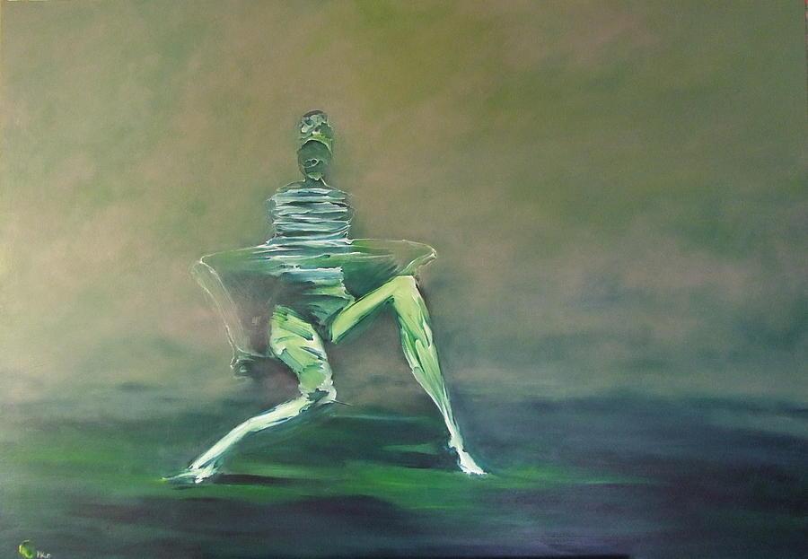 Surreal Painting - A_13 by Marek Kasprzak