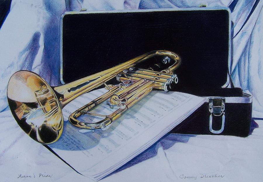 Instrument Mixed Media - Aarons Pride by Constance Drescher