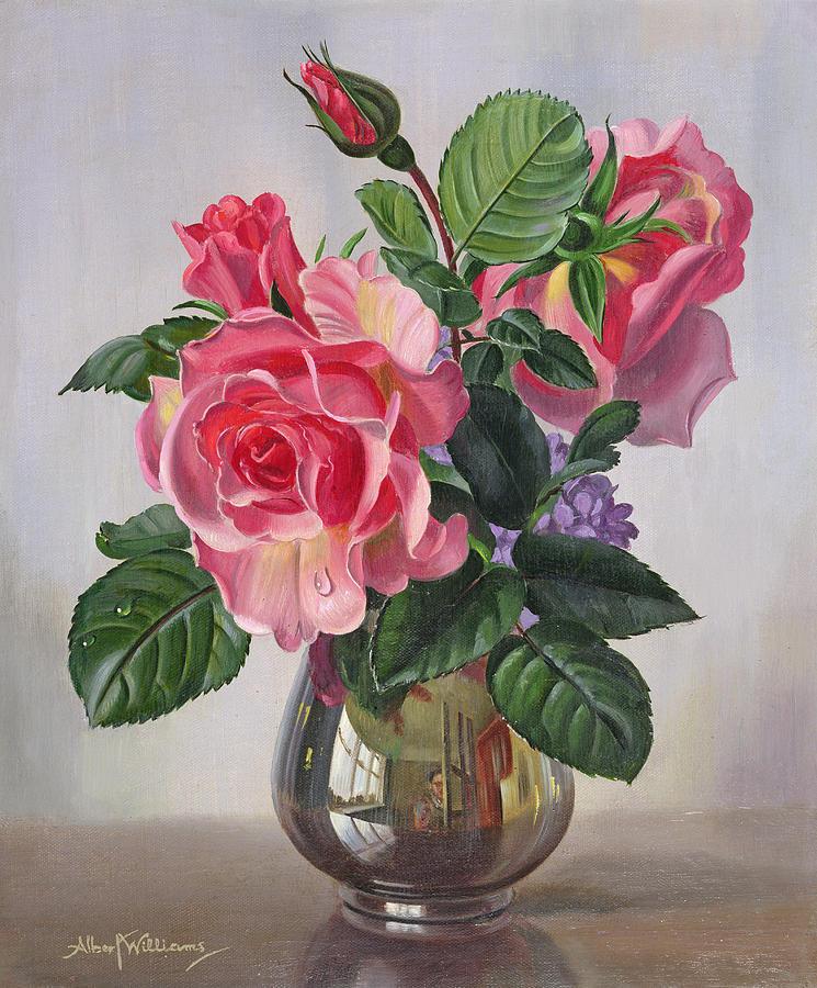 Silver Vase Paintings Fine Art America