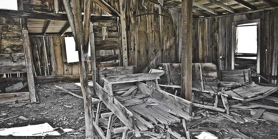 Bodie Photograph - Abandon Barn by Richard Balison