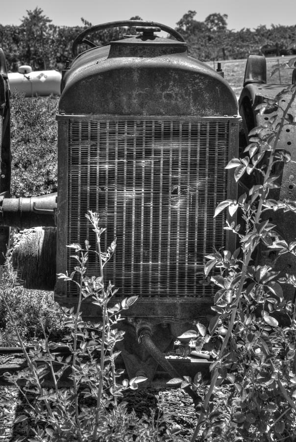 Tractor Photograph - Abandon Tractor by Diego Re