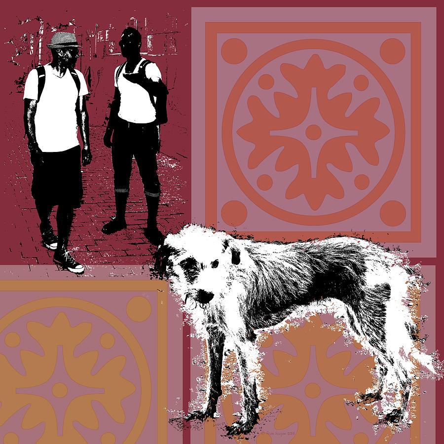 Dog Digital Art - Abandonado by Fran Hogan